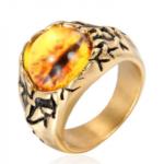 Dragon Eye Gold Ring