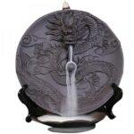 dragon incense burner chinese ceramic