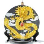 original dragon incense burner chinese ceramic