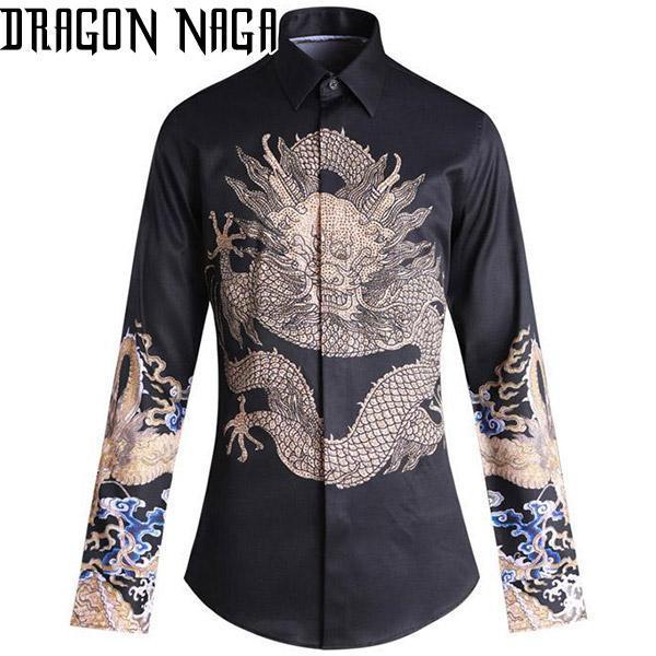 Black Haori Dragon Japanese Style