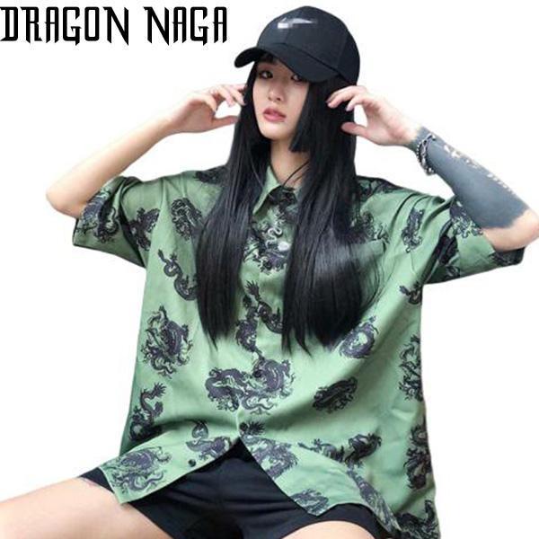 Printed Dragon Heori Oriental Style