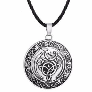 Dragon Necklace Celtic Story
