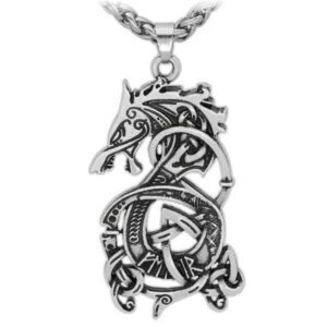 Dragon Necklace Norse Monster