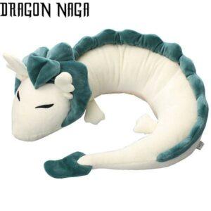 White Dragon Serpent Plush