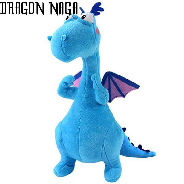Blue Dragon Plush Dinosaur
