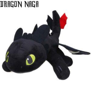Dragon Plush Toothless Black