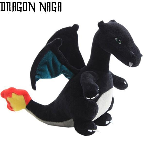 Dragon Black Plush