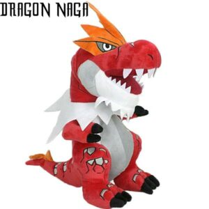 Red Dragon Plush Fire