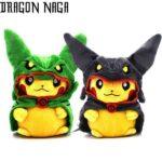 Pokemon Pikachu Dragon Plush