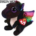 Black Dragon Cute Plush