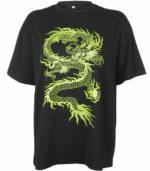 Dragon Tshirt Women Cotton Spandex