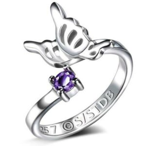 Dragon Ring Wings of Butterfly Sterling Silver