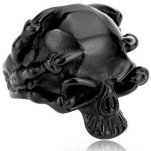 Dragon Ring Alien Stainless Steel