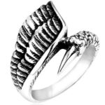 Dragon Ring Angel (Steel)