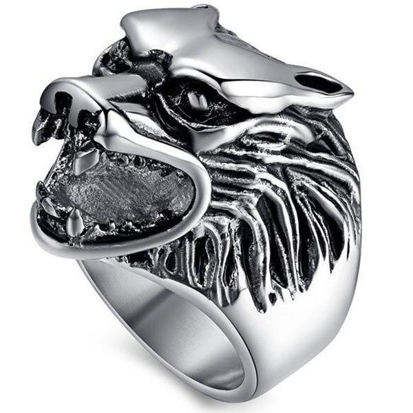Dragon Ring Stainless Steel Animal