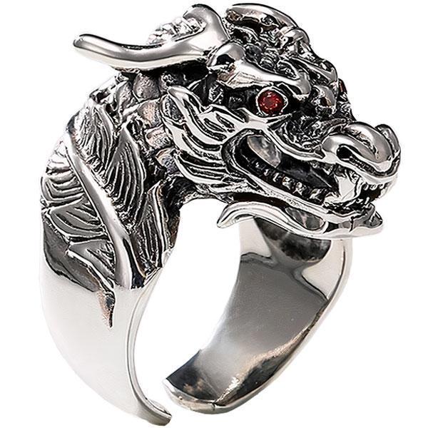 Dragon Ring Unalterable Silver