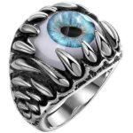Dragon Ring Blue Eyes