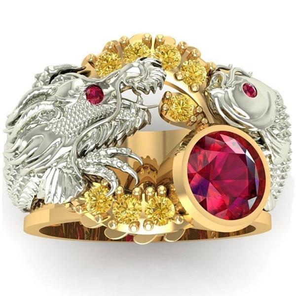 Dragon Ring Koi Carp Zinc 10gr