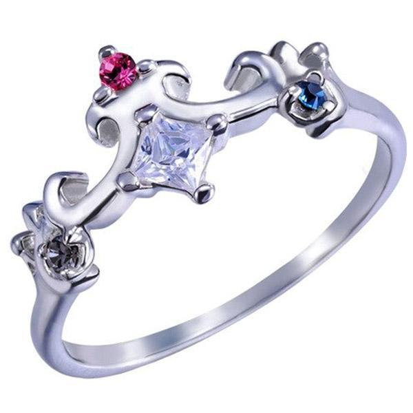 Dragon Ring Princess Tiara Sterling Silver