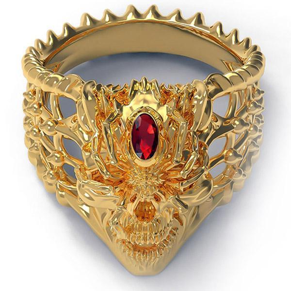 Dragon Ring Spider Zinc Alloy