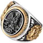 Dragon Ring Buddhist Sterling Silver 925