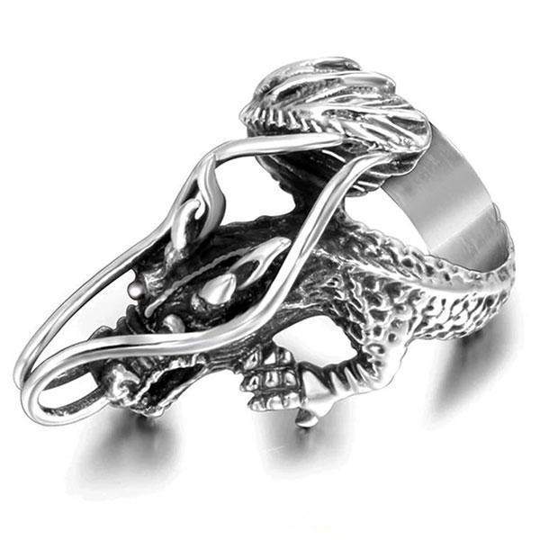 Dragon Ring Celestial Stainless Steel