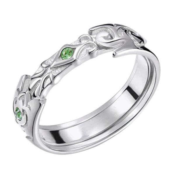Dragon Ring Egyptian Sterling Silver