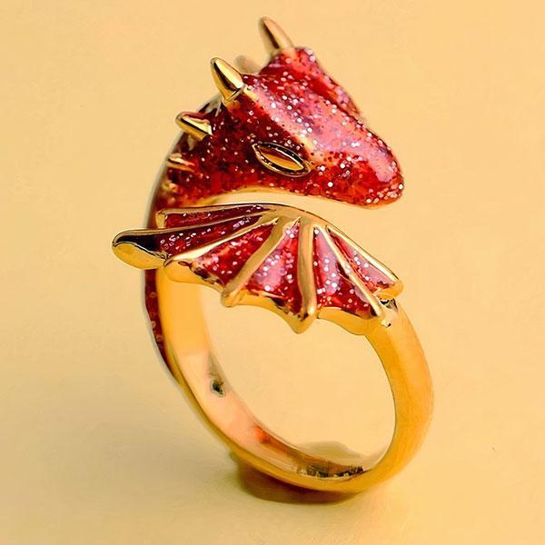 Bague dragon eternelle