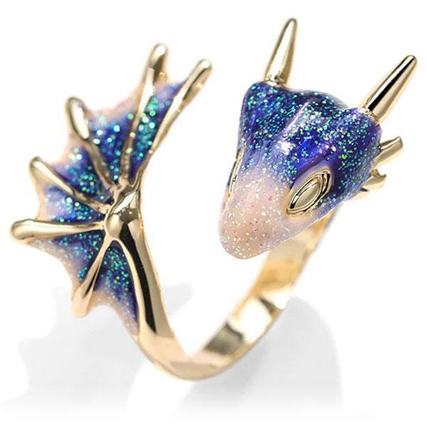 Dragon Ring Eternal Beauty Gold
