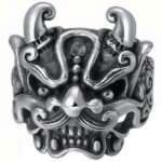 Dragon Ring Ethnical Art Sterling Silver