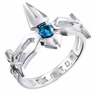 Dragon Ring Hyorinmaru Sterling Silver Zirconium