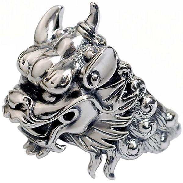 Dragon Ring Pyromaniac Sterling Silver
