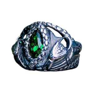 Dragon Ring Sacred Snake Steel