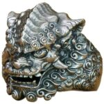 Dragon Ring Tiger Sterling Silver Vintage