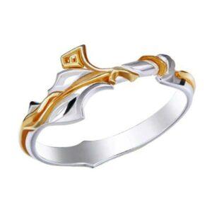 Dragon Ring Sacred Treasure Silver