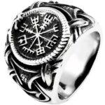 Dragon Ring Stainless Steel Viking Symbol