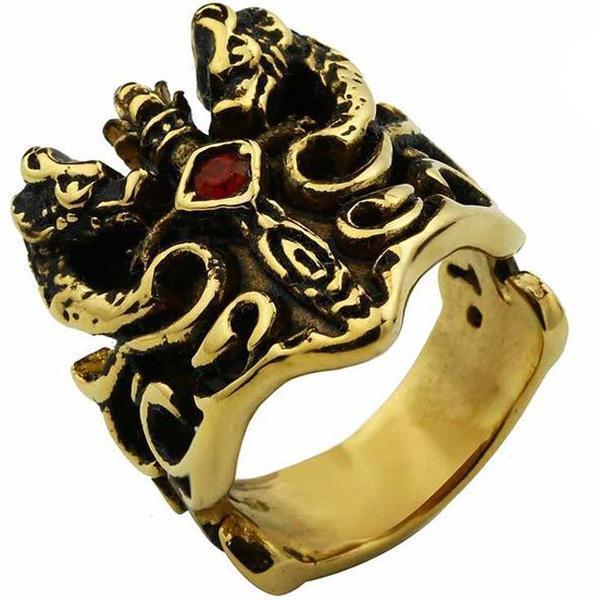 Dragon Ring Sacred Sword Steel