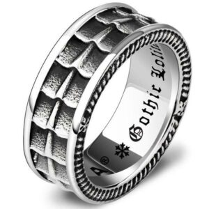 Dragon Ring Gothic Man Stainless Steel