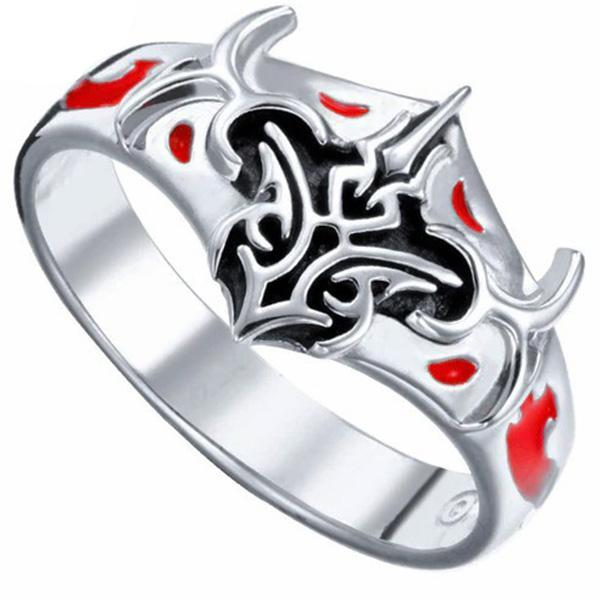 Dragon Ring Warrior Sterling Silver 925