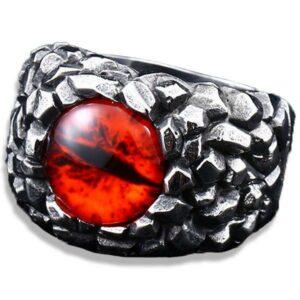 Dragon Ring Evil Eye