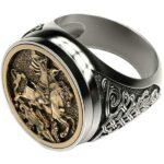Dragon Ring Medieval Zinc