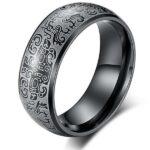 Dragon Ring Chinese Mythology Steel