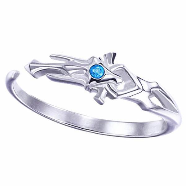 Dragon Ring Vision Sterling Silver Zircon