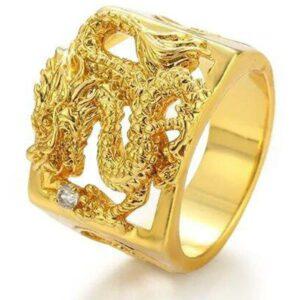 Dragon Ring Golden Dynasty