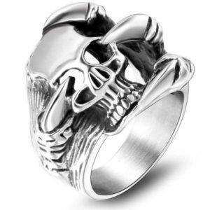 Original Dragon Ring for Men (Steel)