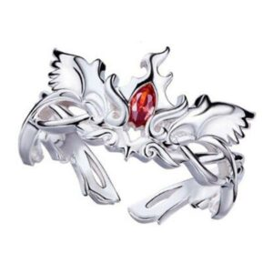 Dragon Ring Ardent Phoenix Sterling Silver