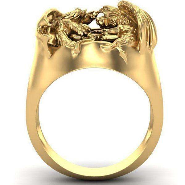 Dragon Ring Man Phoenix Zinc 10gr
