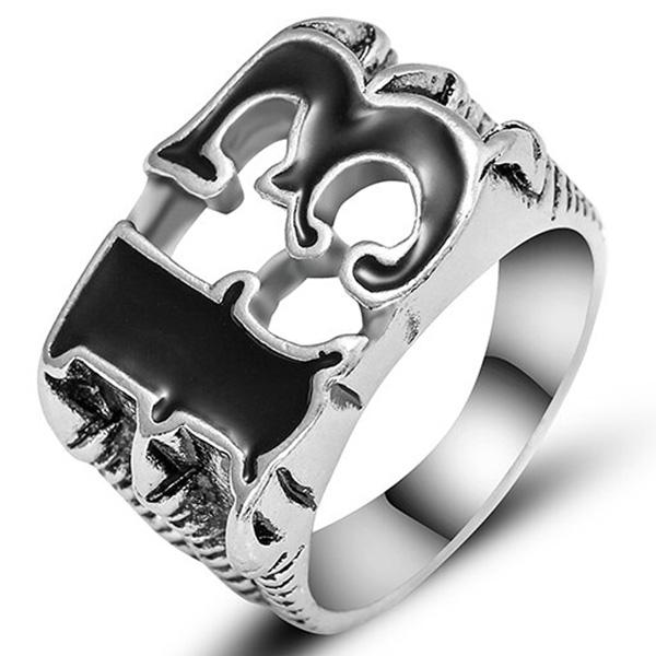 Dragon Ring Lucky Charm Stainless Steel