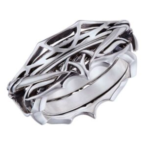 Dragon Ring Puzzle of Sterling Silver