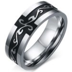 Dragon Ring Dark (Steel)